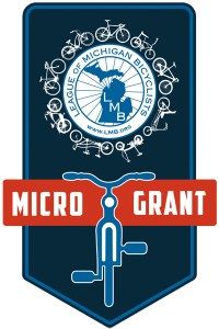 League of Michigan Bicyclists (LMB) Micro Grant logo