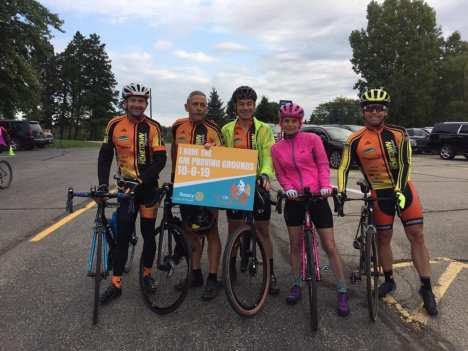 Team Hometown Bicycles 2019 Tour de Livingston