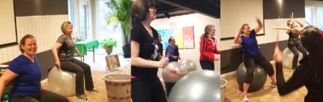 Cardio Fitness Drumming with Martha Soraruf