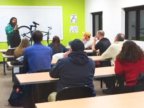 Hometown Bicycles Bike Clinic Winter Series in Brighton, MI