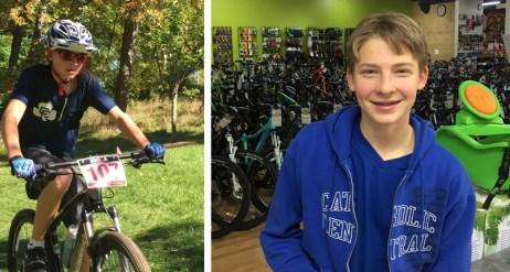 Hometown Bicycles crew member, Matthew Persha