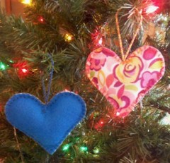 Sew Your Own Christmas Ornament Class for Beginners at Hometown Bicycles