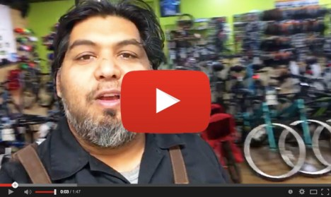 Shaun Bhajan of Hometown Bicycles talks about Wacky Wednesday deals on this video