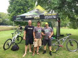 Team Hometown Bicycles at Maybury Time Trial