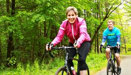 Hometown Bicycles Road riding at Island Lake