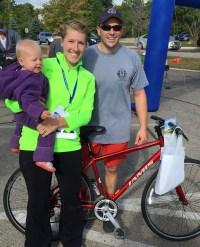 Brighton Area Fire 9/11 Run Jamis bike winner (donated by Hometown Bicycles)
