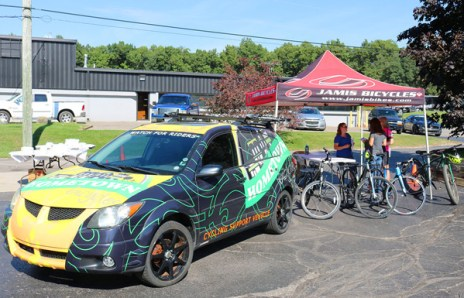 Hometown Bicycles at the Kem Krest Wellness Fair