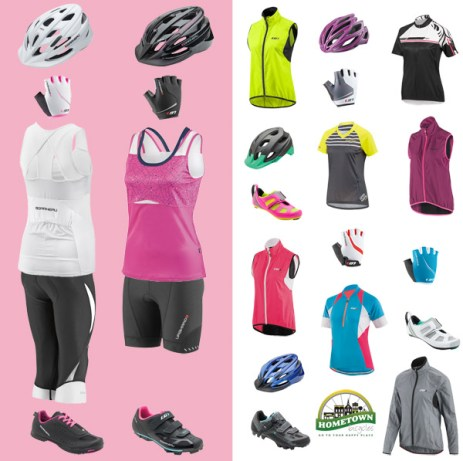 Ladies Night Out at Hometown Bicycles: Spring Edition women's cyclewear selection