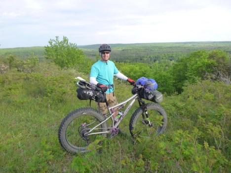 Bikepacking Keith Cowgar
