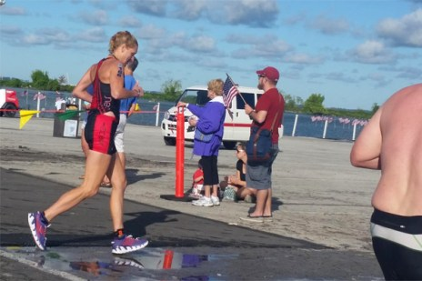 Hometown Bicycles' Amy Gluck races IRONMAN