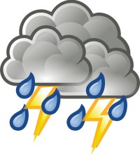 Thunderstorm clipart
