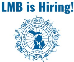 League of Michigan Bicyclists LMB is hiring!