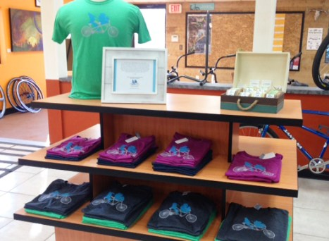 Michigan tandem t-shirts by Alpenhaus Apparel