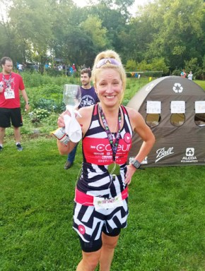 Hometown Bicycles' Amy Gluck at Running Between the Vines