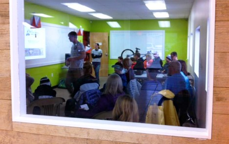 """MI Adventure Club's """"Intro to Adventure Racing"""" clinic at Hometown Bicycles"""