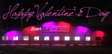 Happy Valentine's Day from Hometown Bicycles!