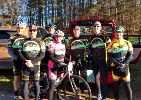 Team Hometown Bicycles at The Lowell 50 Classic Gravel Road Race