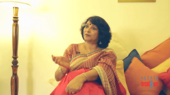 In conversation with Poonam Saxena