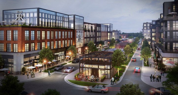 A view of Fenton in Cary NC