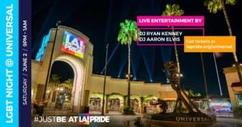 LGBT Night at Universal Studios Hollywood - June 2, 2018 –2018 LA Pride Week
