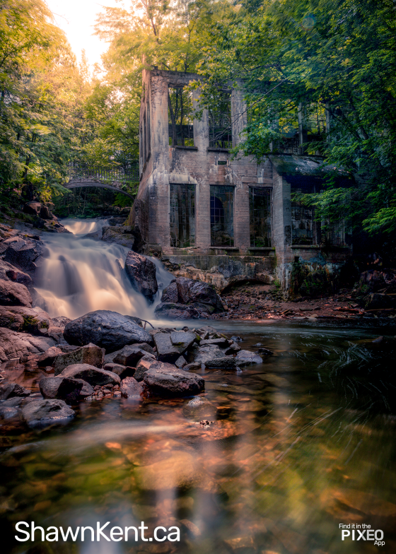 Gatineau Park Carbide Mill Photo Spot by Shawn M. Kent