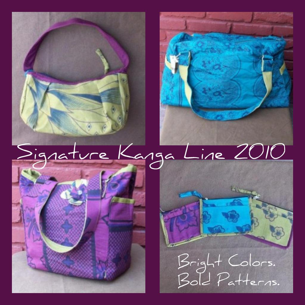 A sampling of our Safari Bag 2010 Line