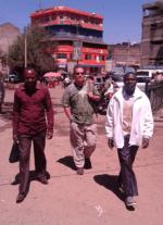 Bodyguards in Karatina