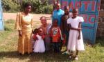 group picture at Lanet Baptist Church in Nakuru