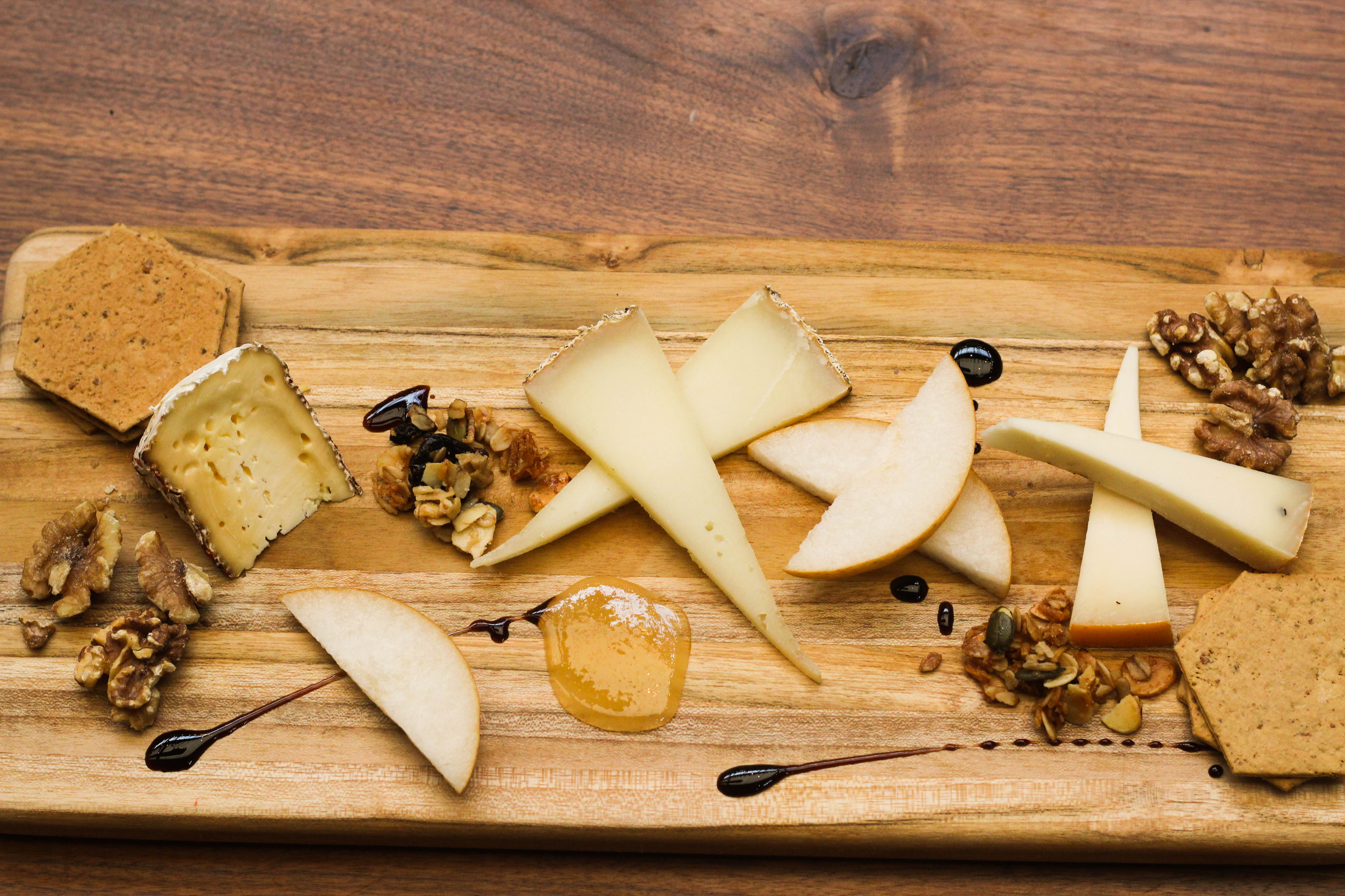 cheese plate from salumeria