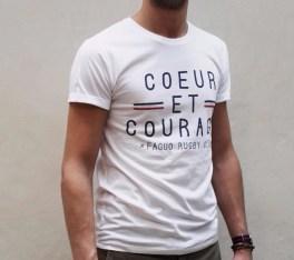 tshirt faguo coeur et courage