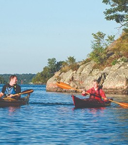 1000 Islands Gananogue Kayaking