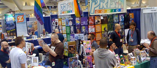 Prism Comics at Comic-Con 2010