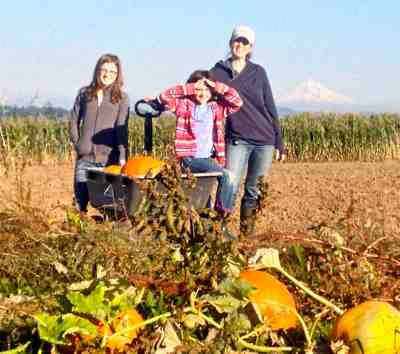pumpkin patch family
