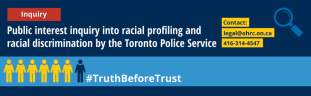 Logo for Inquiry into racial profiling