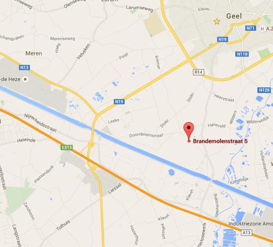 De Plantentrekker op Google Maps