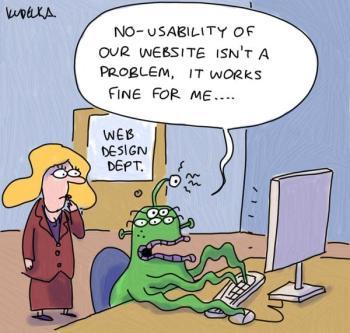 It works fine for me (alien web designer)