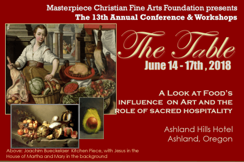 Save the Date Masterpiece Christian Fine Arts 13th Annual Conference