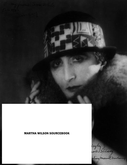Martha Wilson Sourcebook