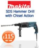 Makita HR2470-1 SDS Hammer Drill   £115 ex vat