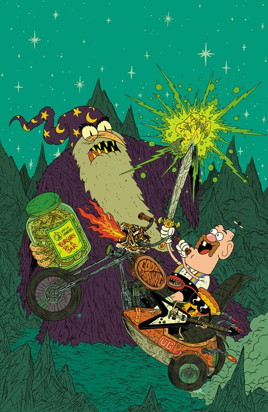 Uncle Grandpa #4 Cover A by Zé Burnay
