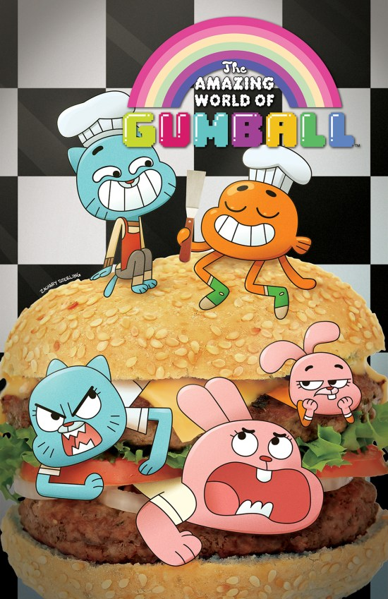 THE AMAZING WORLD OF GUMBALL #1 Cover B by Zachary Sterling