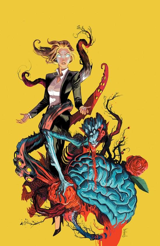 Hexed #6 Cover by Dan Mora