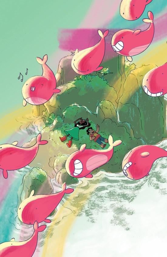 Steven Universe #6 Cover B by Meg Gandy