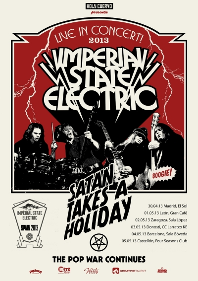 Imperial State Electric Poster
