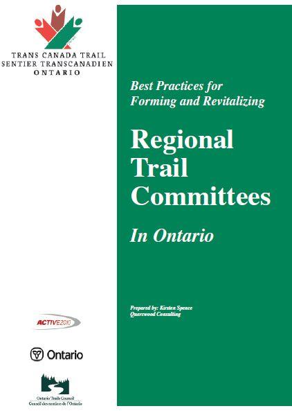 ontario regional trail committee planner