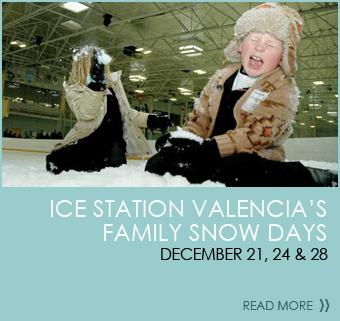Ice Station Valencia's Family Snow Days  December 21, December 24 & December 28