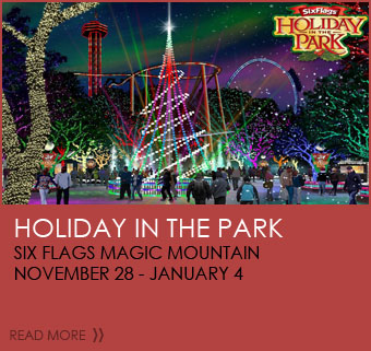 Holiday in the Park Six Flags Magic Mountain November 28-January 4