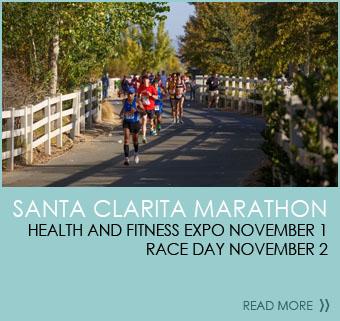 Santa Clarita Marathon - Health and Fitness Expo November 1 Race Day - November 2
