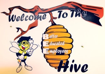 The PSI BEE Hive was an employee idea that led to a modern training facility that helps prepare