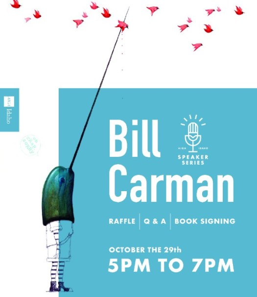 AIGA Bill Carman event